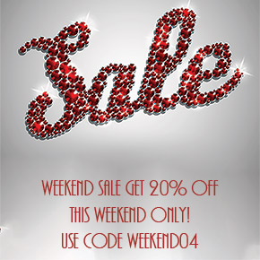 weekend sale april