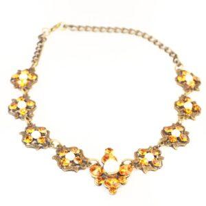 Swarovski set with faux pearls Jewellery set bridal set