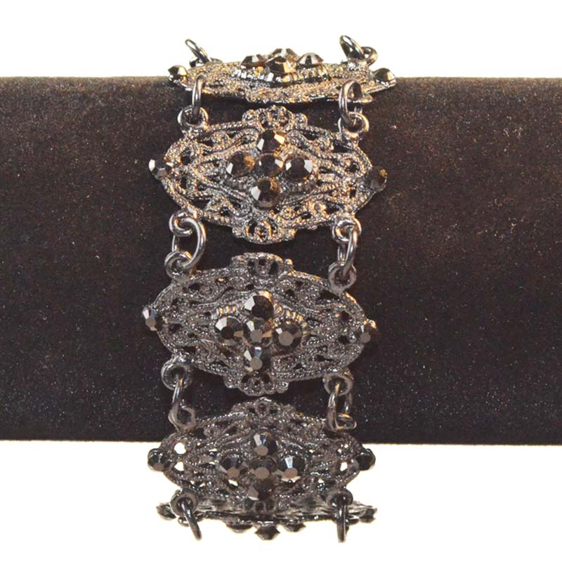 Zwart gotische armband