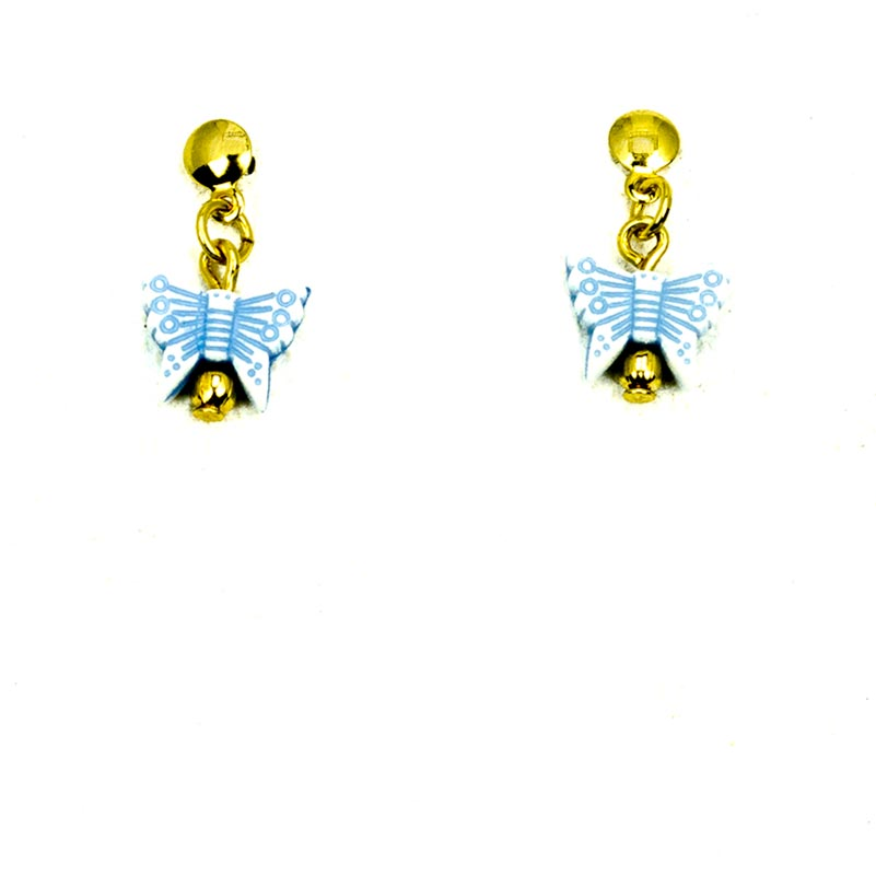Butterfly Earrings Gold Plated