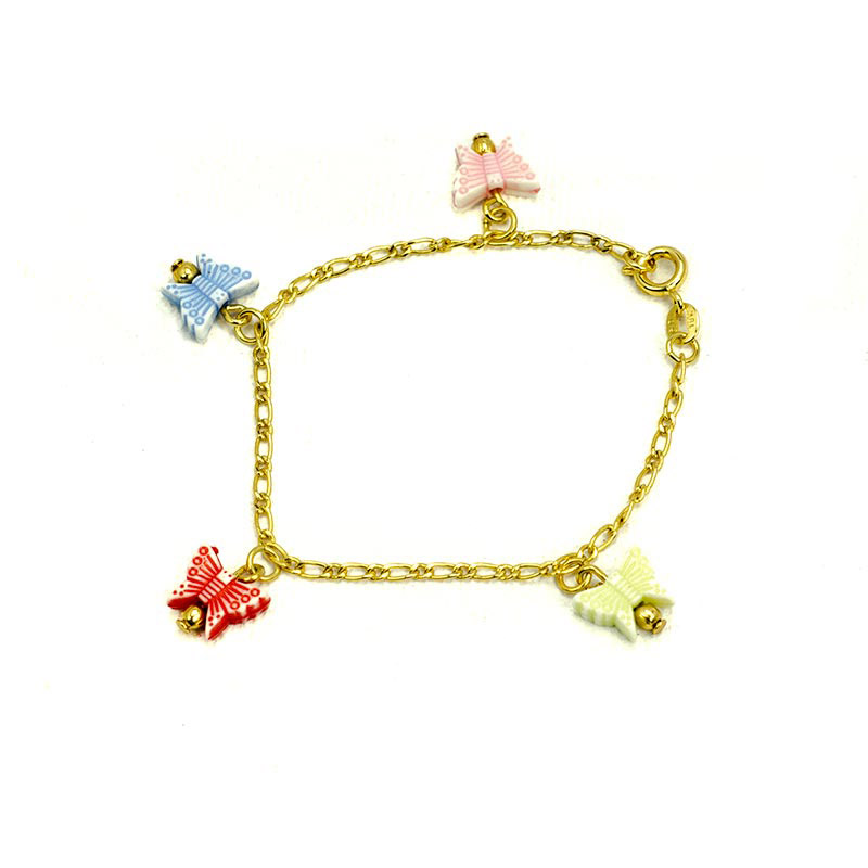 Butterfly Charm Bracelet Children's Jewellery