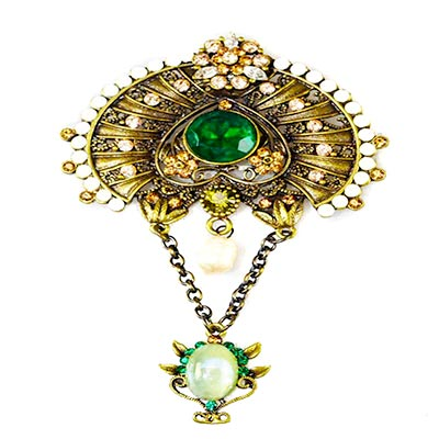 Brooch art deco