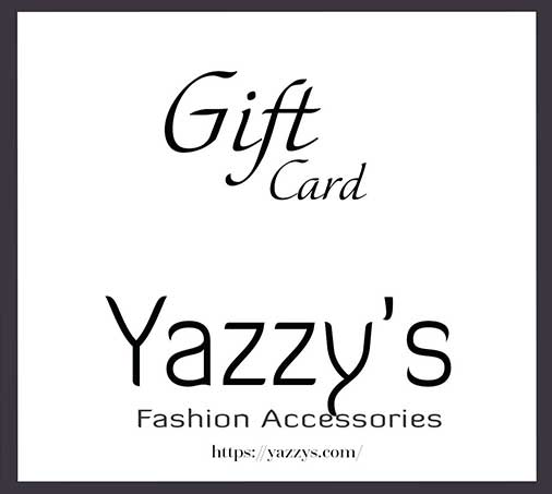 Gift Cards Yazzy's