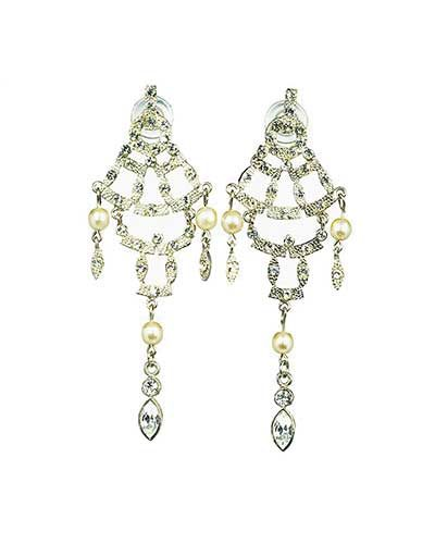 Moving Strass Earrings