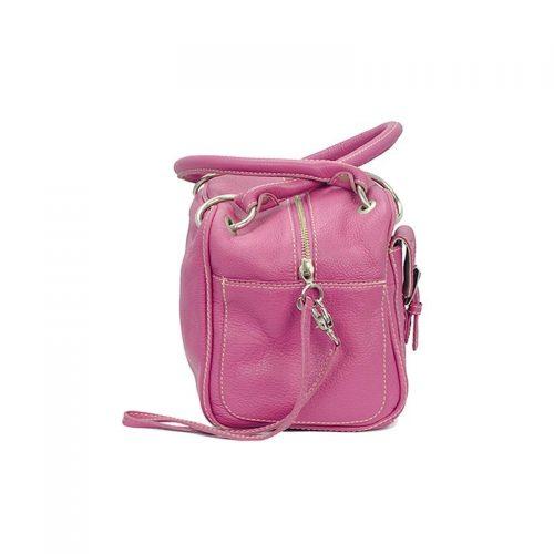 Hot pink Handtas