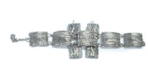 Silver Plated Bracelet Set