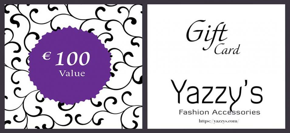 Gift Card Yazzy's 100