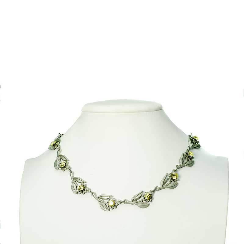 Choker with Swarovski Crystals