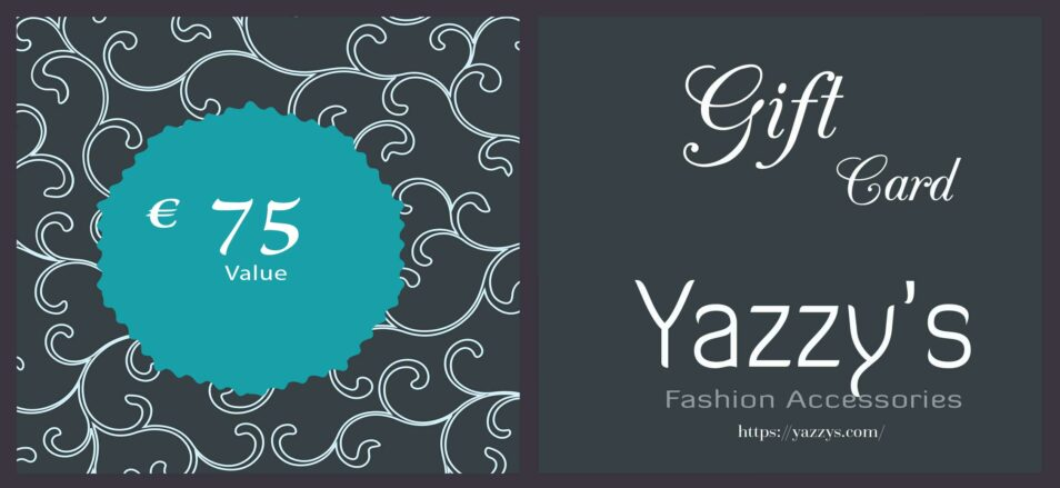 Gift Card 75 Yazzy's