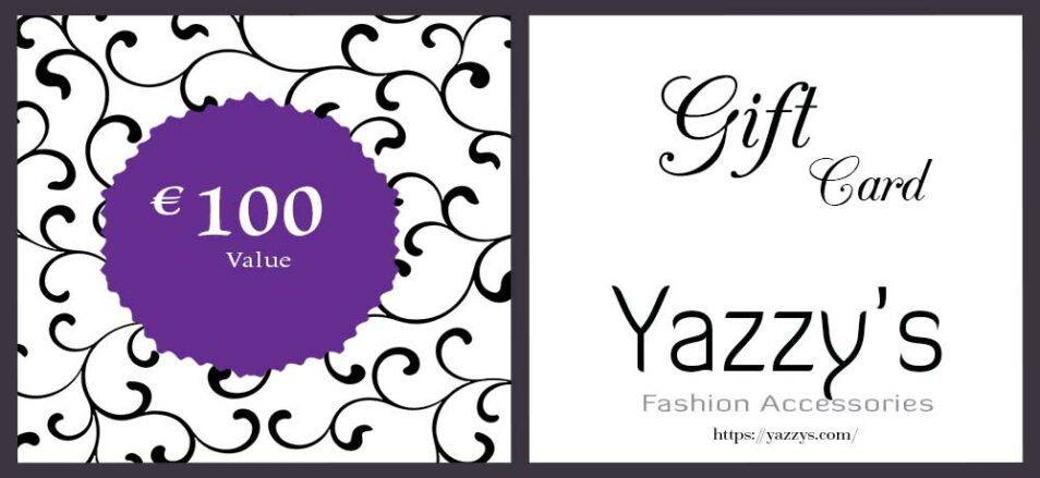 Gift Card 100 Euro Yazzy's