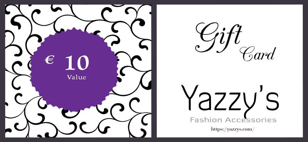 Gift Card of Yazzy's