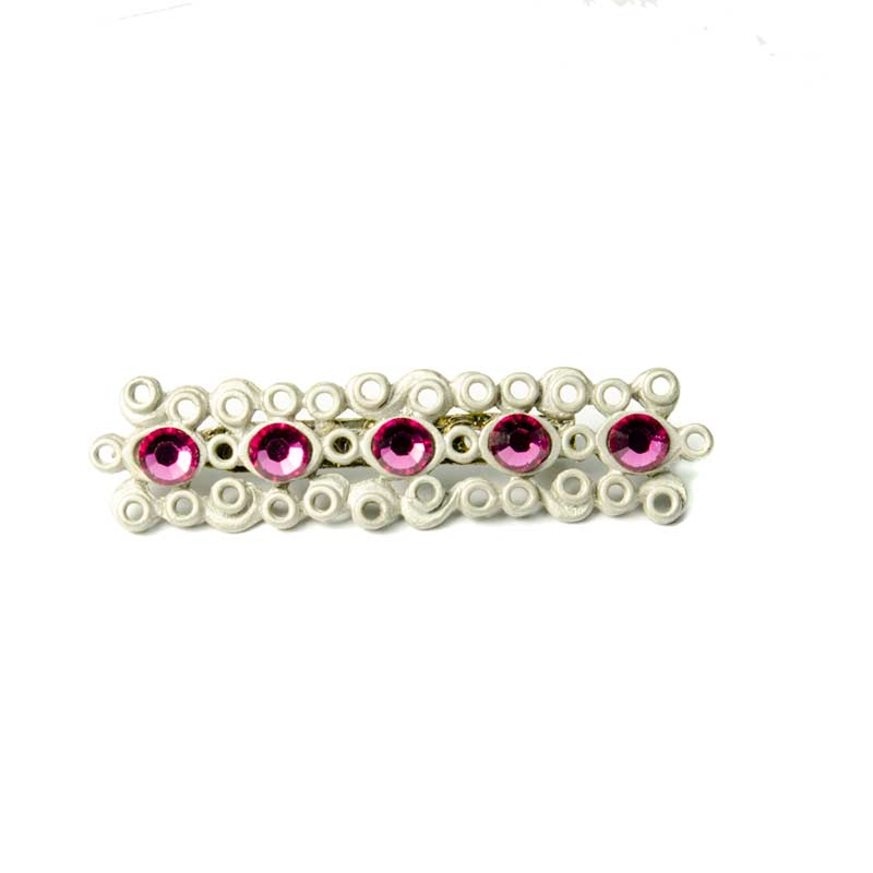 Long chandelier earrings lying