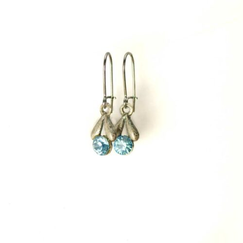 Cute Tulip Earrings Swarovski Crystals