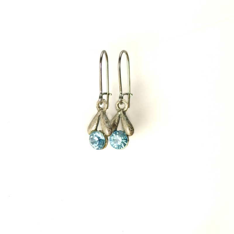 Cute Tulip Earrings Swarovski Crystals