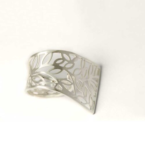 Filigrain Silver Ring