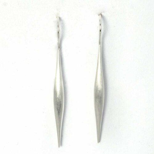 Lange Sterling Zilveren Oorbellen