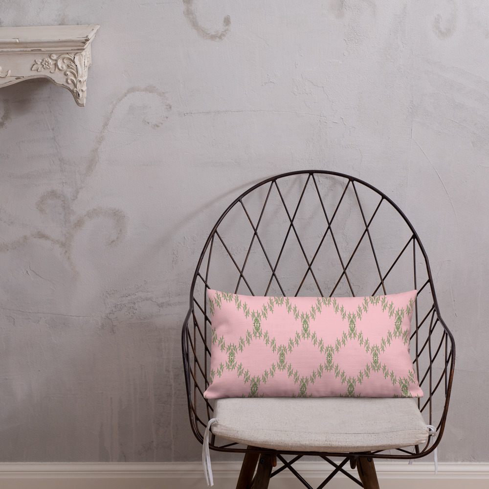 next cushions for your home Premium Green Pink Cushions