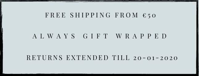 free shipping from € 50